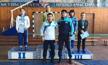 MEDALS FROM KOSTANAY